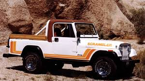 The New Jeep Wrangler Truck Is Called The Jeep Scrambler And It Has ...