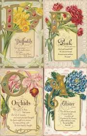 The Language of Flowers Packard Piano Victorian by OldFangledFinds