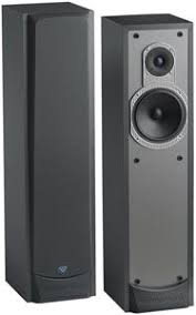 cerwin vega v 6f tower speaker 6 1 2 coated midwoofer each 45