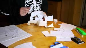 Funny Halloween Half Masks by Papercraft Skull Halloween Mask Last Minute Halloween Costume