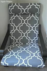 Poang Chair Cover Replacement by Diy Ikea Poang Chair Cover A Prudent Life Con Telas De Ikea