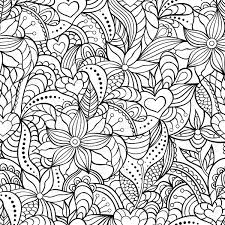 Patterns Abstract Coloring Pages