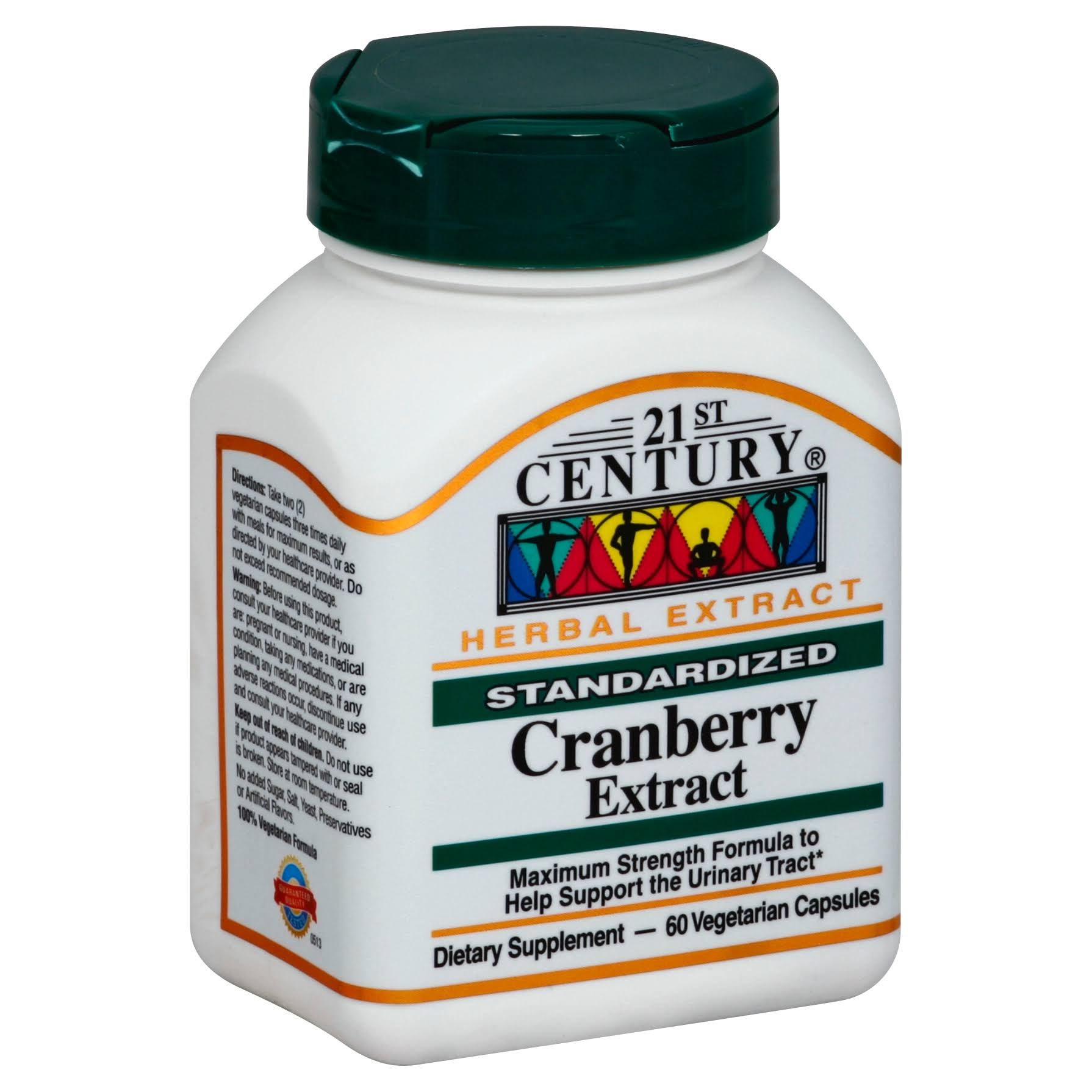 21st Century Cranberry Extract Dietary Supplement - 60ct