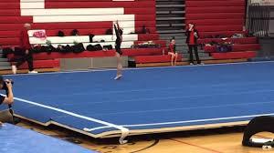 usag level 3 gymnastics floor routine 2015 9 450 youtube