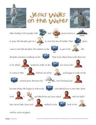 Jesus Walks On The Water Day 2 Story