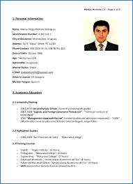 Sample Resume In English Business Teacher Samples Cv Example Ivuajs New