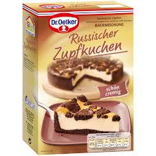dr oetker russian chocolate cheesecake