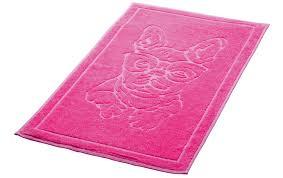 badteppich bulli 50 x 70 cm pink