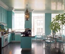 Dream NYC Kitchen Aqua KitchenTurquoise CabinetsKitchen ColorsTiffany Blue