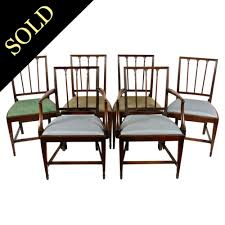 Set Of Six 18th Century Hepplewhite Chairs 4 Hepplewhite Style Mahogany Yellow Floral Upholstered Ding Chairs Style Ding Table And Chairs Pair George Iii Mahogany Armchairs Antique Set Of 8 English Georgian 12 19th Century Elegant Mellow Edwardian Design Antiques World 79 Off Wood Hogan Side Chair Eight Late 18th Of