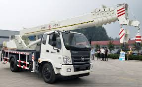 China Used Electric Pickup Mini 12 Ton Truck Crane Manufacturers And ...