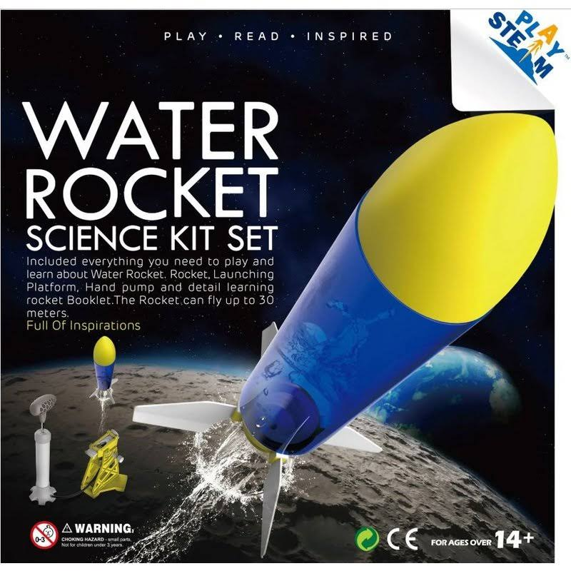 Playsteam Water Powered Rocket Science Kit Set