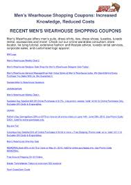 Mens Wearhouse Shopping Coupons By Ben Olsen - Issuu Mens Wearhouse Warehouse Coupon Code Can You Use Us Currency In Canada Online Flight Booking Coupons Charlie Bana Clearance Coupon Toffee Art Whale Watching Newport Beach Wild Water Bath And Body 20 Percent Off Fiore Olive Oil Uf Uber Discount Carpet King Promo 15 Off Masdings Promo Code Codes Verified Wish June 2019 Boll Branch Codes New Hollister Gmc Service Enterprise Rental Sthub K Swiss Conns Computers