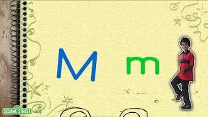 Sesame Street Song Letter M Day