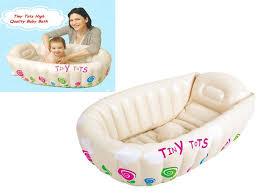 tiny tots inflatable baby bath tub heat sensor sashstime co uk