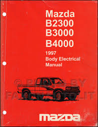 100 1994 Mazda Truck 1997 Body Electrical Troubleshooting Manual Original