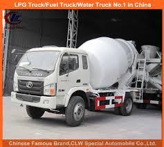 China Foton 3cbm Mini Concrete Mixer Truck For Small Cement Mixer ...
