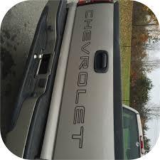 100 Truck Tailgate Decals BLACK 9907 Chevy Pickup Chevrolet Silverado Vinyl