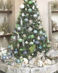 Decor Stunning Beach Themed Christmas Trees 1244 Best Coastal Images On Pinterest Nautical