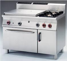 cuisiner au gaz ou à l électricité chaud cuisson grande cuisine ligne lotus profondeur 900mm