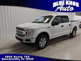 100 Used F150 Trucks 2018 Ford For Sale In Duncansville PA 1FTEW1E55JFD13901