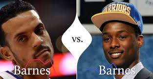 Battle of the Barnes Could the Warriors have been the Clippers