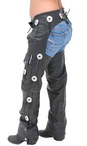 western leather chaps w conchos c011cc