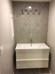 Bathtub Wall Liners Home Depot by Home Depot Dove Gray Arabesque Tile Bathroom Wall Bathroom