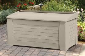 Christmas Tree Storage Tote by Suncast 127 Gallon Resin Deck Box U0026 Reviews Wayfair