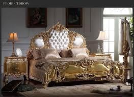 italienische antike möbel schlafzimmer möbel europa design gold blatt vergoldung könig größe bett villa möbel buy gold blatt vergoldung
