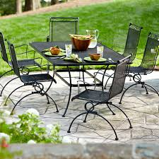 Patio Furniture Sets Sears by Garden Oasis Auburndale 7 Piece Spring Motion Dining Set Limited