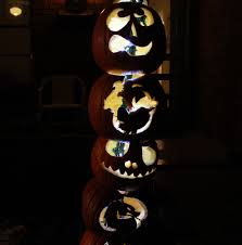 Maleficent Pumpkin Designs by Make A Pumpkin Totem Pole In Less Than 2 Hours 16 Steps With