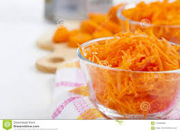 Download Grate Carrots In A Bowl Stock Image Of Heap