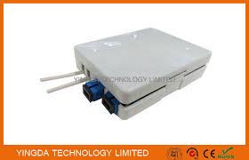 boîte optique d arrêt de fibre d adaptateur de sc de 2 ports 2