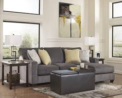 Hodan Sofa Chaise Art Van by Sofa Luxury Sofa Table In Living Room Console Behind The Couch