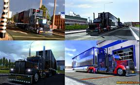 Peterbilt 389 Optimus Prime + Trailer For ETS 2 » Download Simulator ...