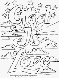 Coloring Pages For Kids By Mr Adron God Is Love Printable Free With