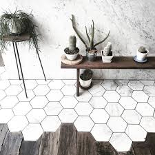 hexagon bathroom floor tile zyouhoukan net