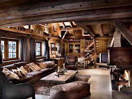 die schoensten winter chalets chalet le fermes wohnzimmer