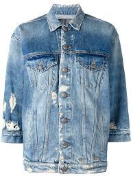 r13 vedder cotton shorts in red plaid r13 distressed denim jacket
