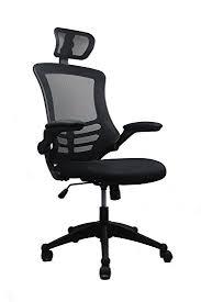 amazon com modern high back mesh executive chair with headrest
