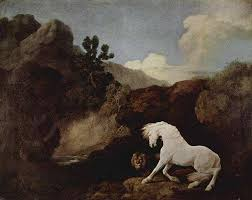Famous Animal Painting Paintings A Horse Frightened By Lion Is Listed Or Ranked 1 On The List
