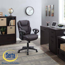 Serta Memory Foam Managers Chair by Serta Smart Layers Verona Manager Chair Ivorychampagne Ebay