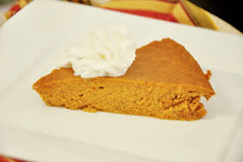 Pumpkin Pie Without Crust And Sugar by Crustless Pumpkin Pie Recipe Genius Kitchen