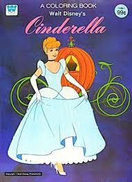 Walt Disneys Cinderella Coloring Book 1981 Whitman