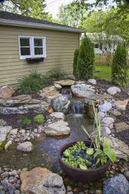 Water Features Innovative Wonderful Small Backyard Water Feature ... Low Maintenance Simple Backyard Landscaping House Design With Patio Ideas Stone Home Outdoor Decoration Landscape Ranch Stepping Full Image For Terrific Sets 25 Trending Landscaping Ideas On Pinterest Decorative Cement Steps Groundcover Potted Plants Rocks Bricks Garden The Concept Of Designs Partial And Apopriate Fire Pit Exterior Download
