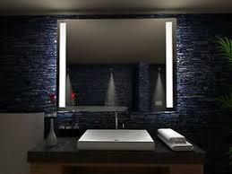 details zu badspiegel sydney mit led beleuchtung badezimmerspiegel bad spiegel wandspiegel
