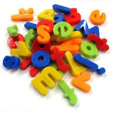 Magnetic Letters Alphabetic Fridge Magnets Full Alphabet A Z