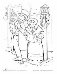 Victorian Christmas Coloring Pages