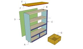 simple bookcase plans myoutdoorplans free woodworking plans